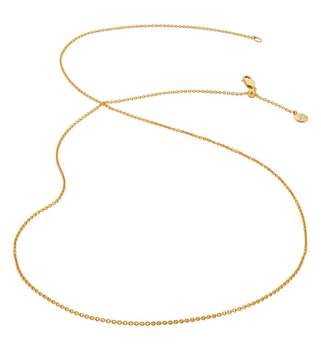 Gold Vermeil Fine Chain 24