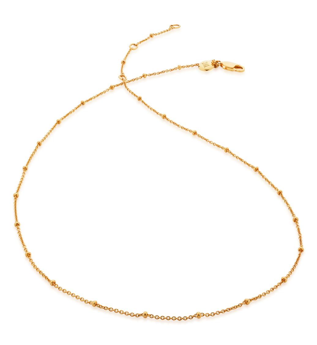 Gold Vermeil Fine Beaded 16