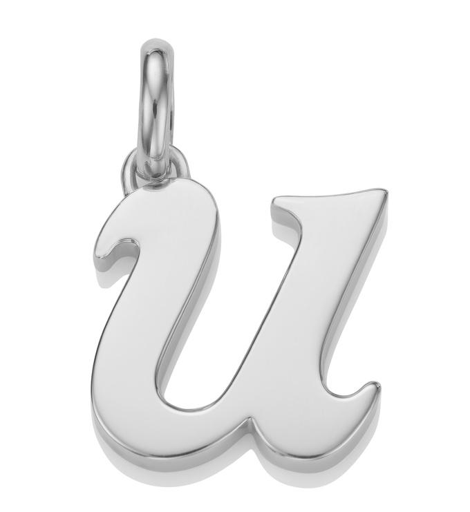 Alphabet Pendant U