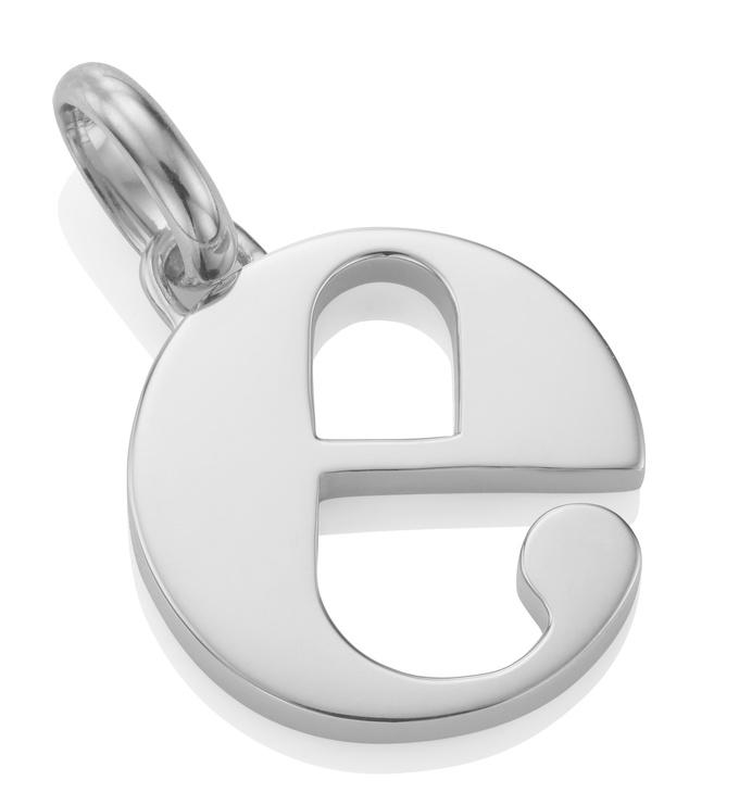 Alphabet Pendant E
