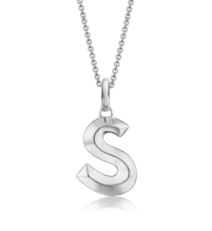 Alphabet Pendant S Chain