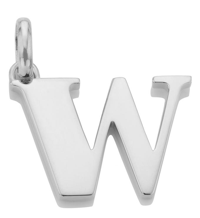 Alphabet Pendant W