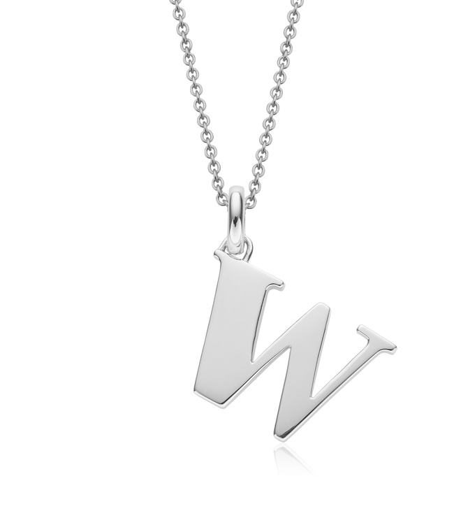 Alphabet Pendant W Chain