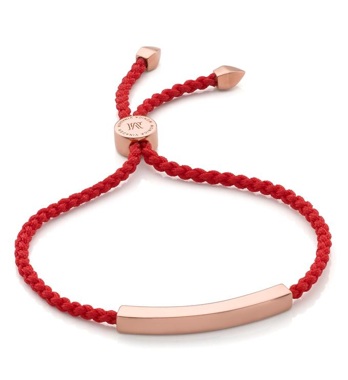 Linear Friendship Bracelet