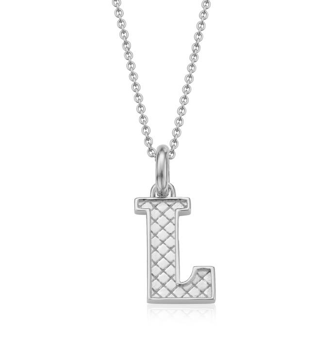 Alphabet Pendant L Chain