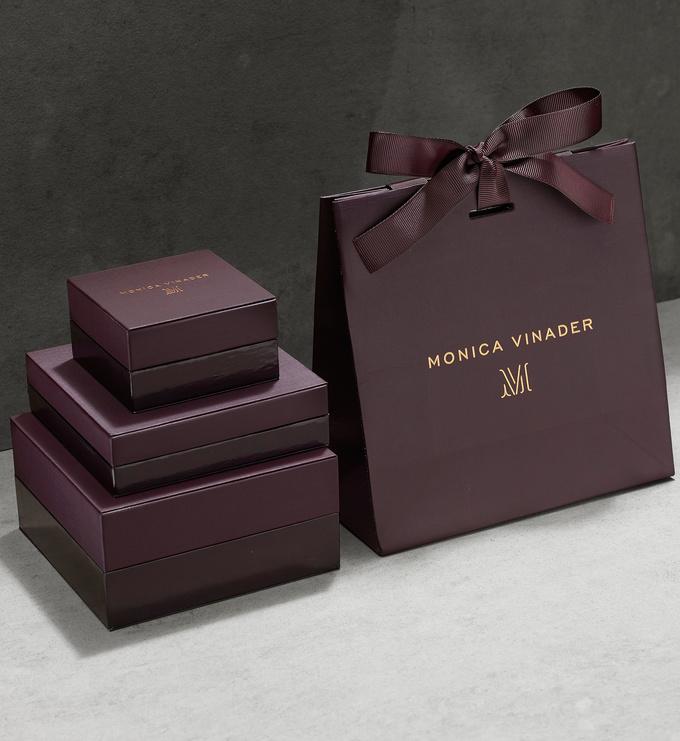 Monica Vinader packaging