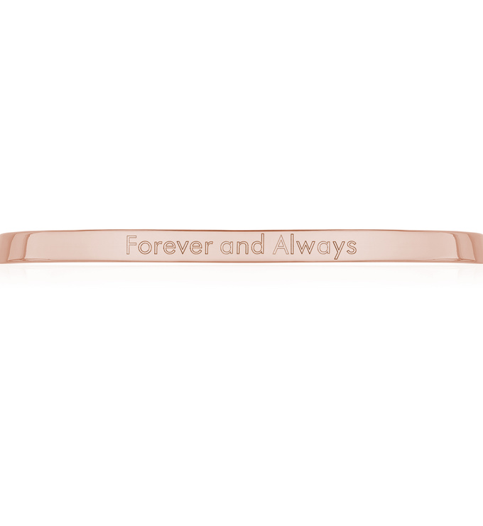 Forever and Always Engraving