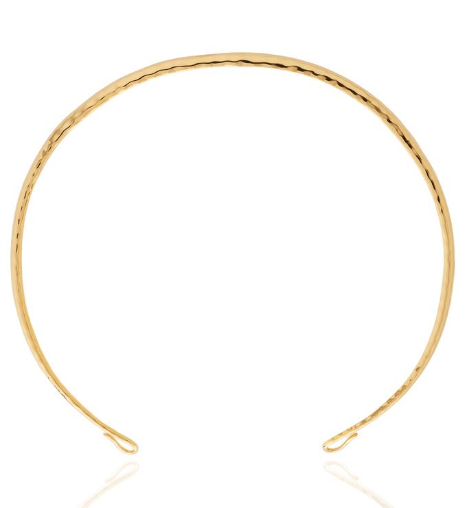 Gold Vermeil Doina Torc - Monica Vinader