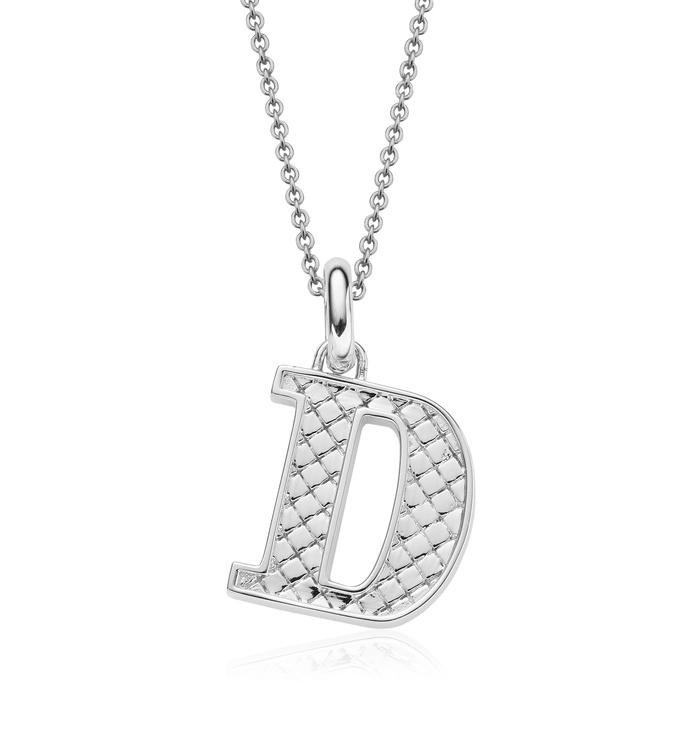 Alphabet Pendant D Chain
