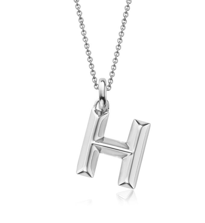 Alphabet Pendant H Chain