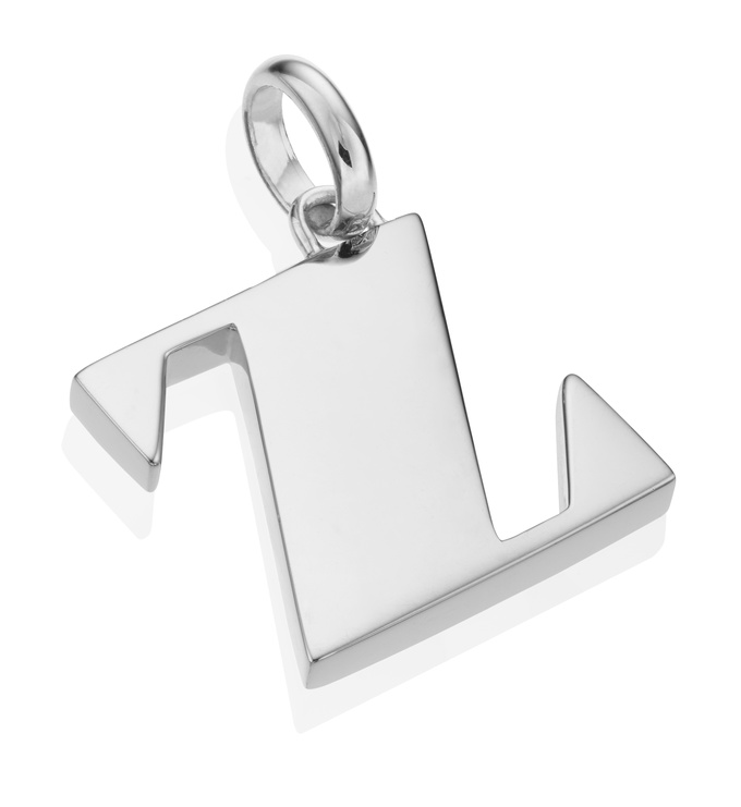 Alphabet Pendant Z 2