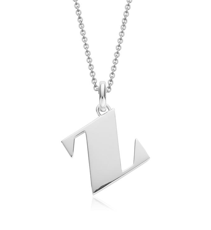Alphabet Pendant Z Chain