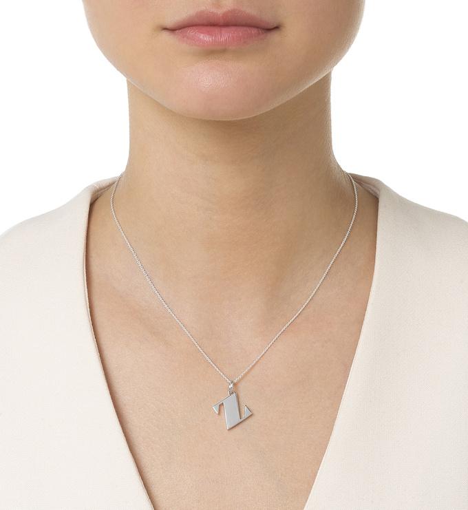 Alphabet Pendant Z Necklace