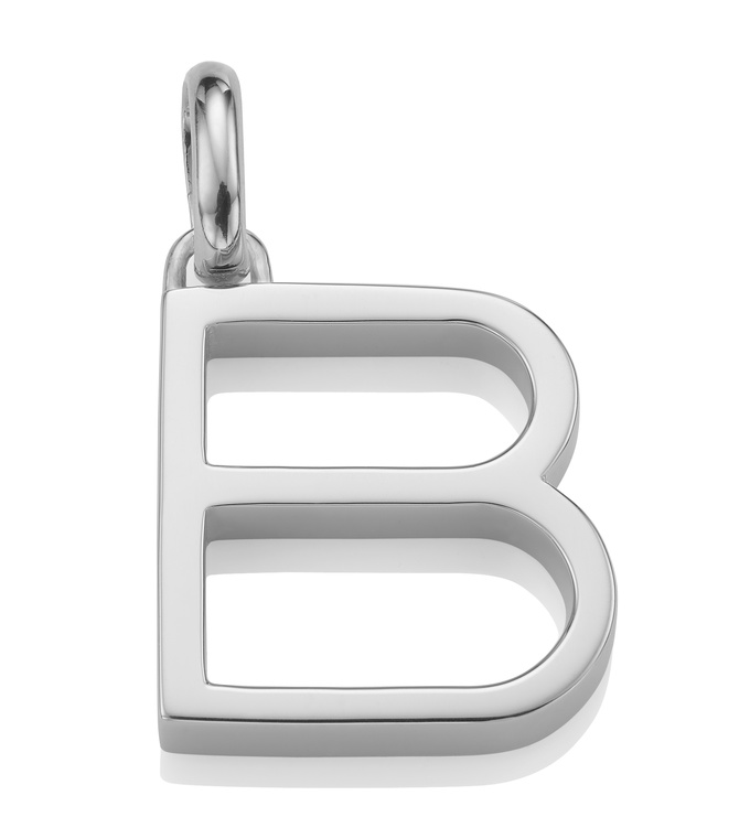 Alphabet Pendant B