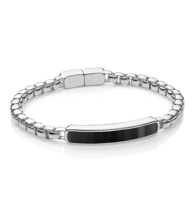 Baja Mens Bracelet - Black Onyx