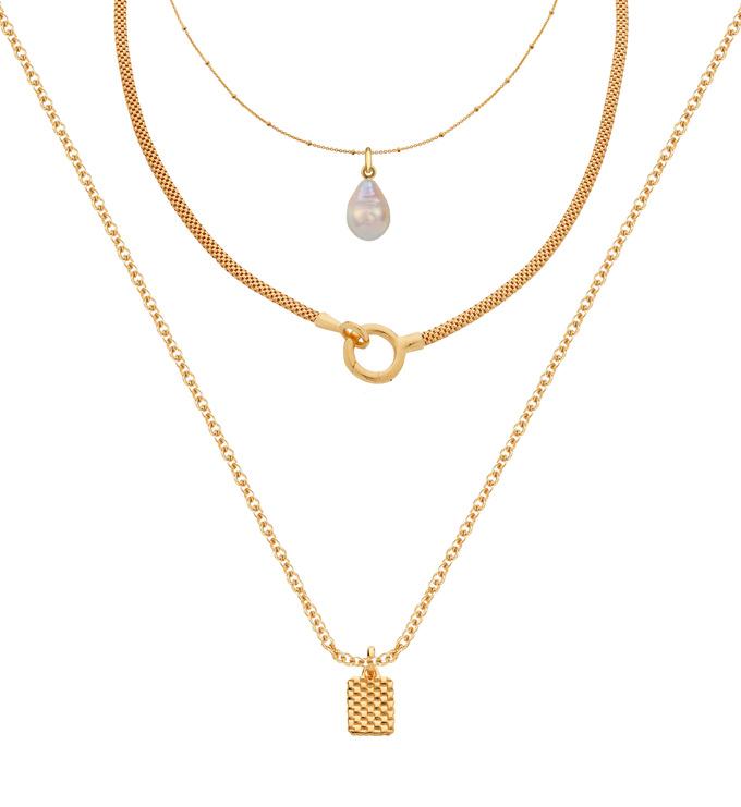 Doina Pearl Necklace Set - Monica Vinader