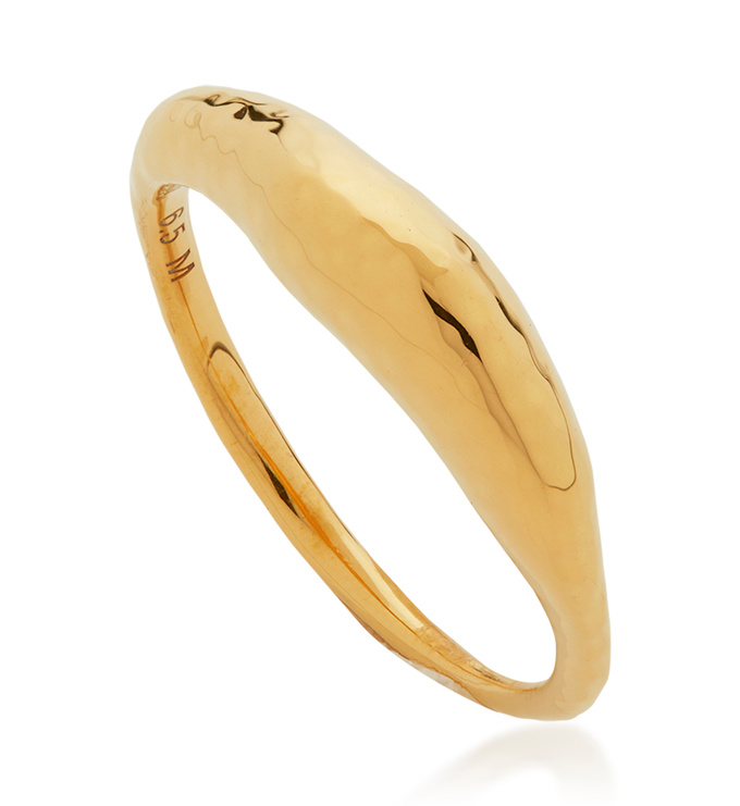 Gold Vermeil Deia Ring - Monica Vinader