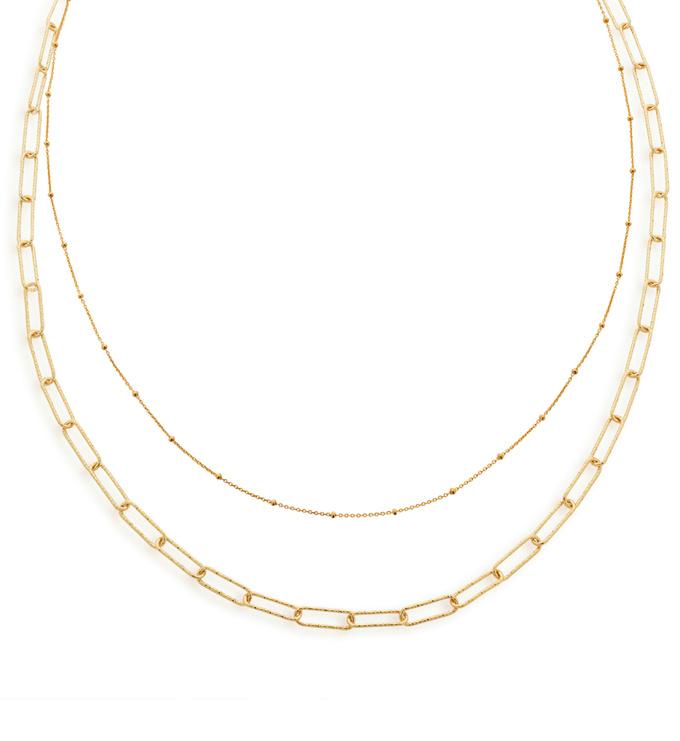 Alta Chain Necklace Set - Monica Vinader