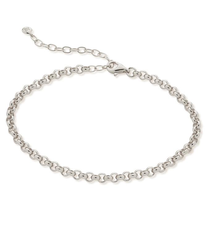 Sterling Silver Vintage Chain Bracelet - Monica Vinader