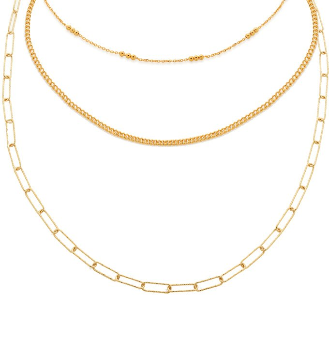 Chain Necklace Set - Monica Vinader