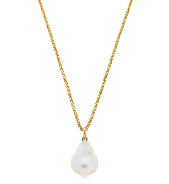 Nura Pearl Vintage Chain Necklace Set - Monica Vinader