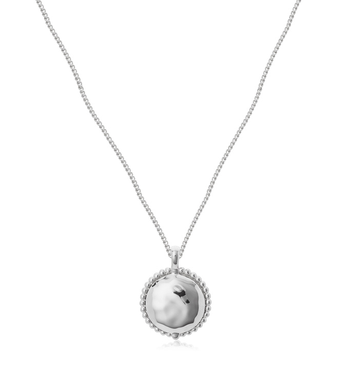 Locket and Curb Chain Necklace Set - Monica Vinader
