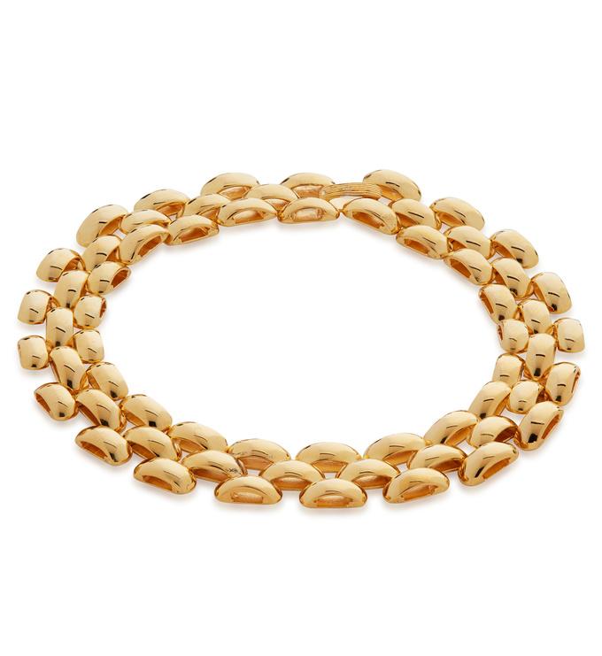 Gold Vermeil Doina Heirloom Bracelet - Monica Vinader