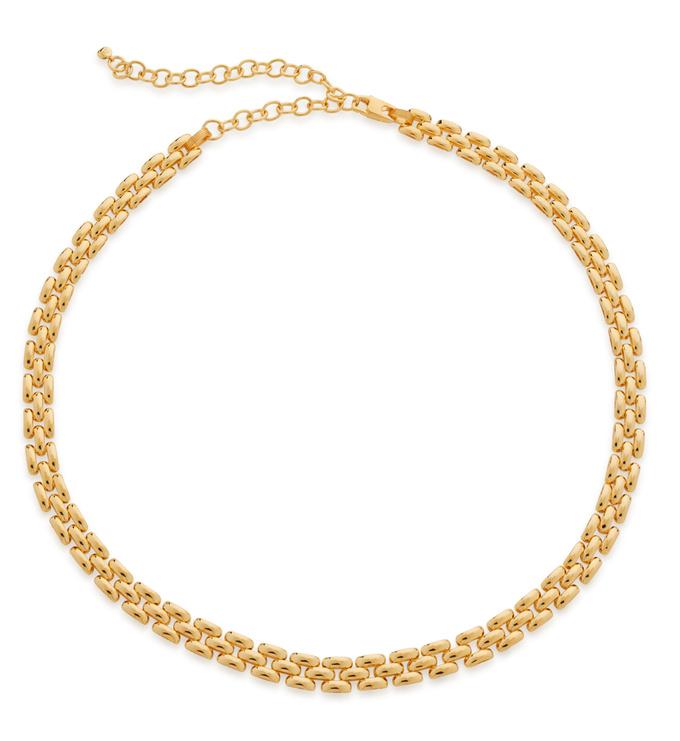 Gold Vermeil Doina Heirloom Necklace - Monica Vinader