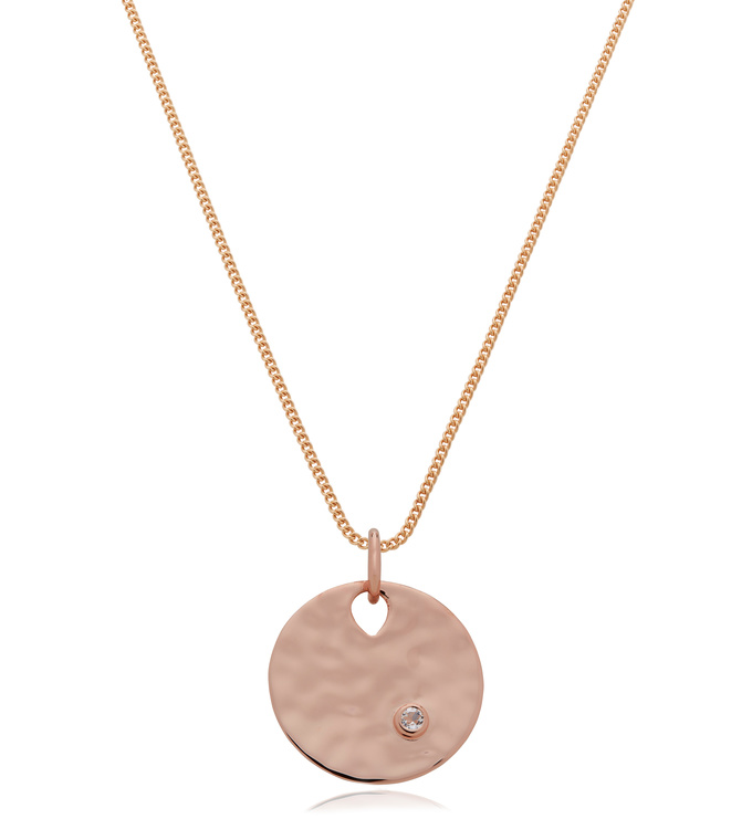 Ziggy Gemstone and Curb Chain Necklace Set - Monica Vinader