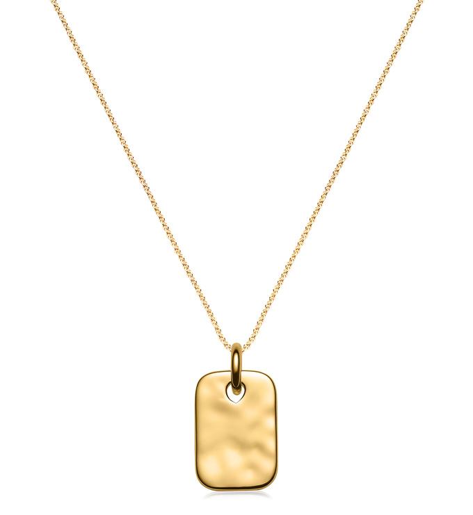 Havana Mini ID and Fine Chain Necklace Set - Monica Vinader