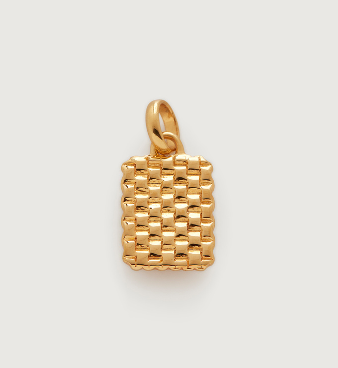 Gold Vermeil Doina Pendant - Monica Vinader