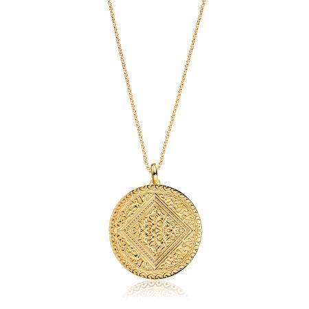 Marie Pendant Charm Necklace Set by Monica Vinader