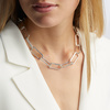 Sterling Silver PRE-ORDER Alta Capture Large Link Necklace - Monica Vinader