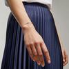 Rose Gold Vermeil Riva Mini Kite Bracelet - Diamond - Monica Vinader
