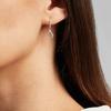 Sterling Silver Riva Mini Kite Drop Diamond Earrings - Diamond - Monica Vinader