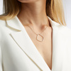 Gold Vermeil Riva Hoop Cocktail Diamond Necklace - Diamond - Monica Vinader