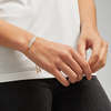 Gold Vermeil Baja Facet Bracelet - Blue Lace Agate - Monica Vinader