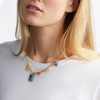 Gold Vermeil Gemstone Necklace - Mix - Monica Vinader
