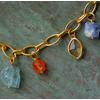 Gold Vermeil Caroline Issa Gemstone Bracelet - Monica Vinader