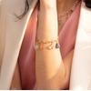 Gold Vermeil Caroline Issa Gemstone Bracelet - Mix - Monica Vinader