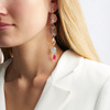 Rose Gold Vermeil Caroline Issa Gemstone Cocktail Earrings - Monica Vinader