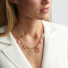 Rose Gold Vermeil Caroline Issa Gemstone Necklace - Mix - Monica Vinader