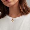 Gold Vermeil Apple Pendant Charm - Monica Vinader
