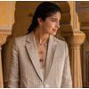 Gold Vermeil Caroline Issa Gemstone Double Pendant Adjustable Necklace - Monica Vinader
