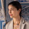 Gold Vermeil Gemstone Huggie Earrings - Citrine - Monica Vinader