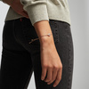Rose Gold Vermeil Alphabet Heart Diamond Friendship Bracelet - LIMITED EDITION - Diamond - Monica Vinader