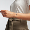 Sterling Silver Alphabet Moon Diamond Friendship Bracelet - LIMITED EDITION - Diamond - Monica Vinader