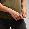 Sterling Silver Includes £50 donation to NHS: Linear Ingot Bracelet - Black - Monica Vinader
