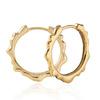 Gold Vermeil Siren Muse Small Hoop Earrings - Monica Vinader