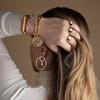Sterling Silver Siren Muse Large Hoop Earrings - Monica Vinader